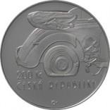 Stříbrná pamětní mince200 Kč Anthropoid